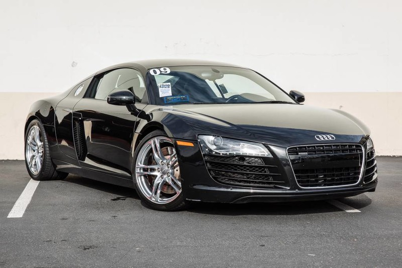 pre owned 2009 audi r8 4 2l 2dr car in newport beach. Black Bedroom Furniture Sets. Home Design Ideas